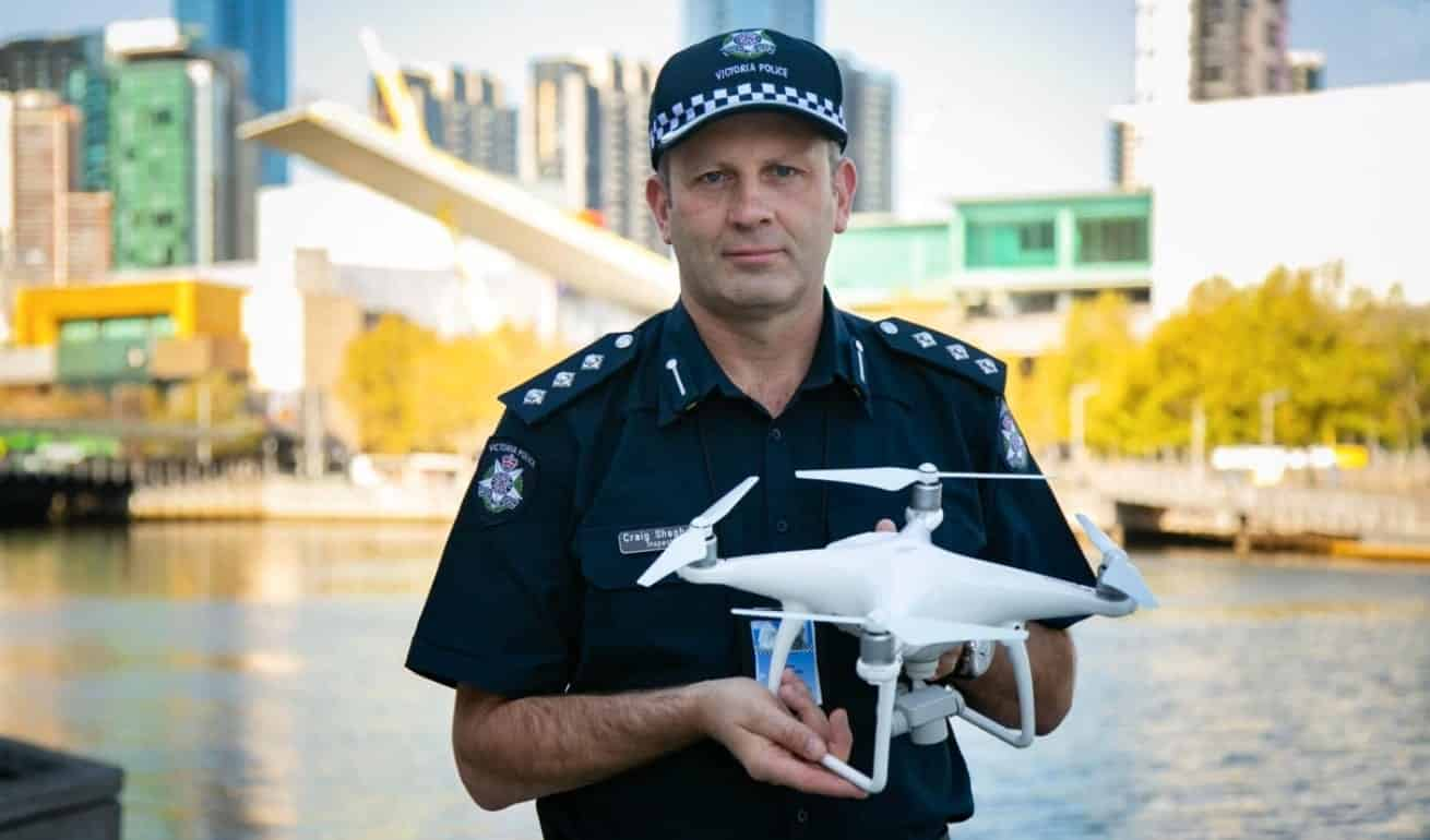 Surveillance drones and elite police units deployed to COVID-19 hotspots in Melbourne