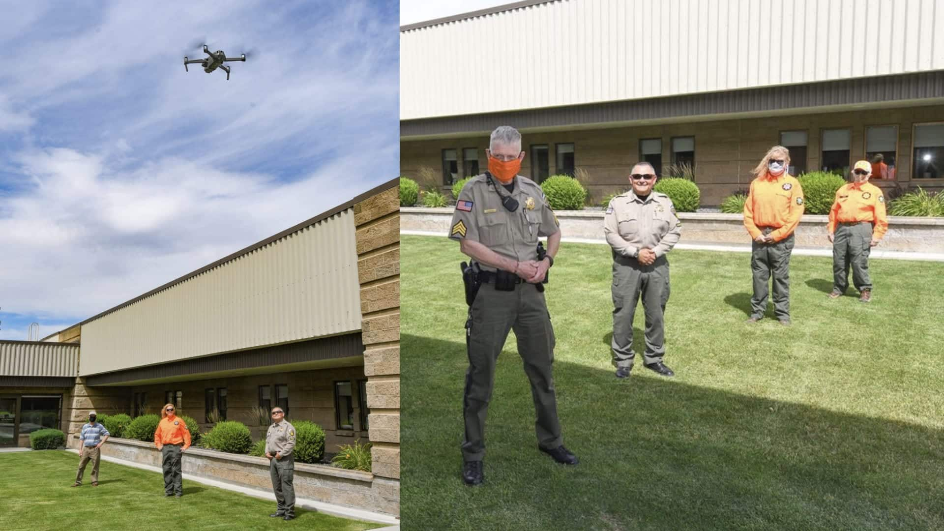 Umatilla Electric Cooperative donated $5,000 to the Umatilla County Search and Rescue team in Oregon to buy DJI Mavic 2 Enterprise Dual drone and accessories.