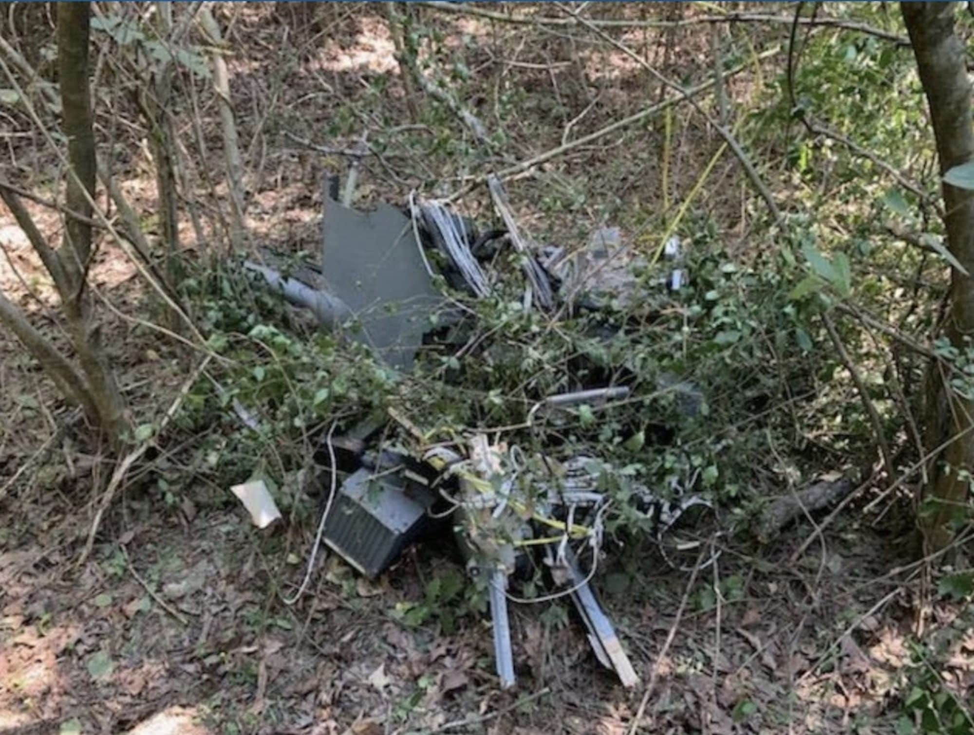 460-pound drone flown by Arkansas Army National Guard crashed in Lavaca