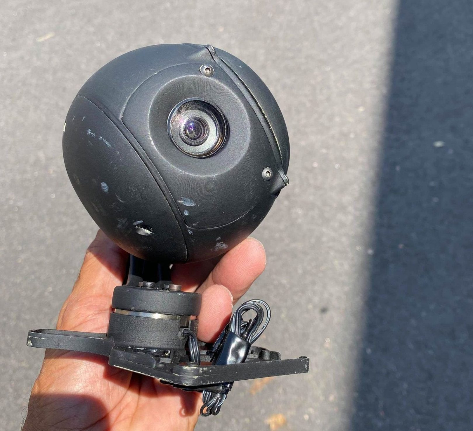 18x zoom camera gimbal Bielik drone from Poland