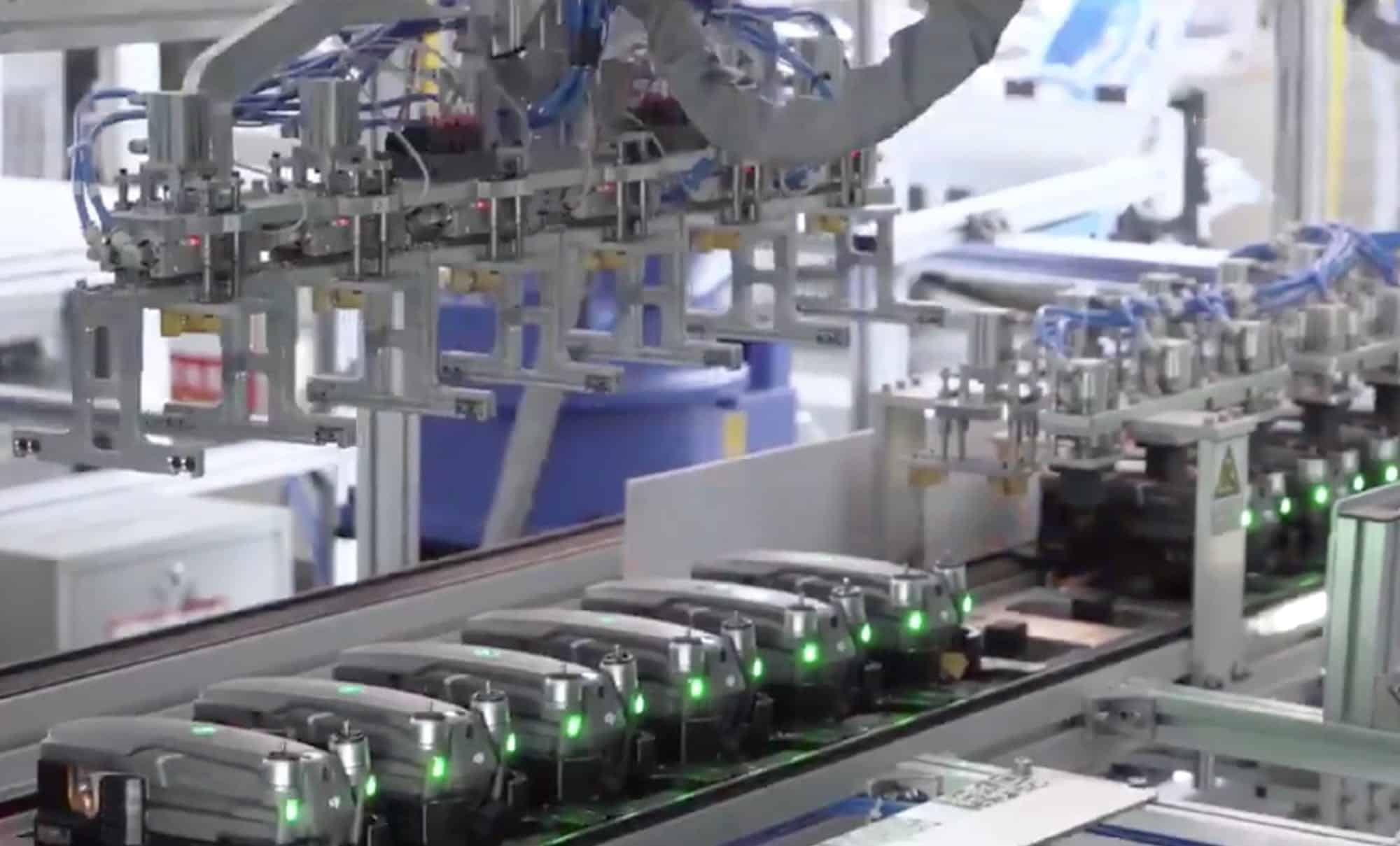 DJI factory tour: production DJI Mavic 2 shown in leaked video