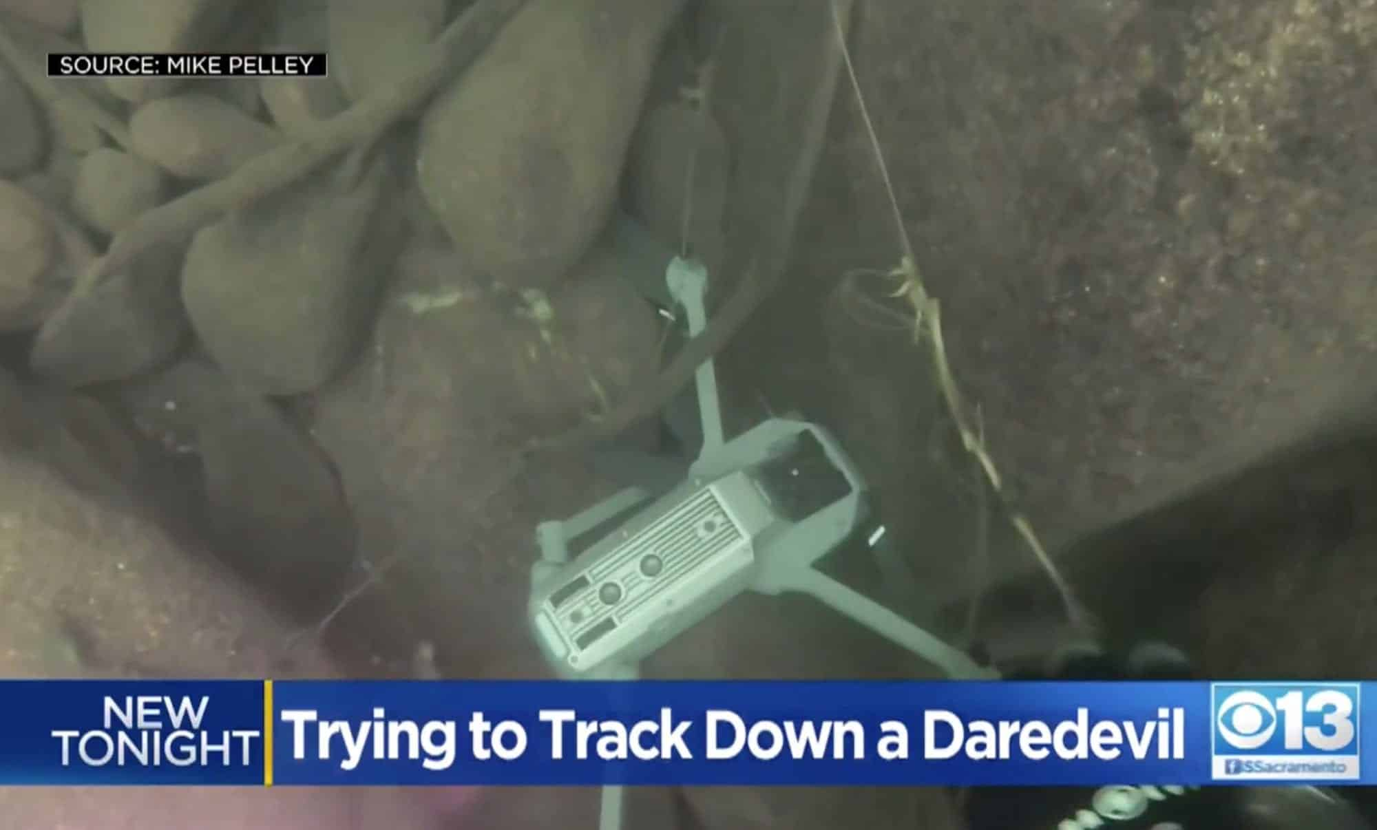 Diver recovers DJI Mavic Pro with daredevil footage from American River