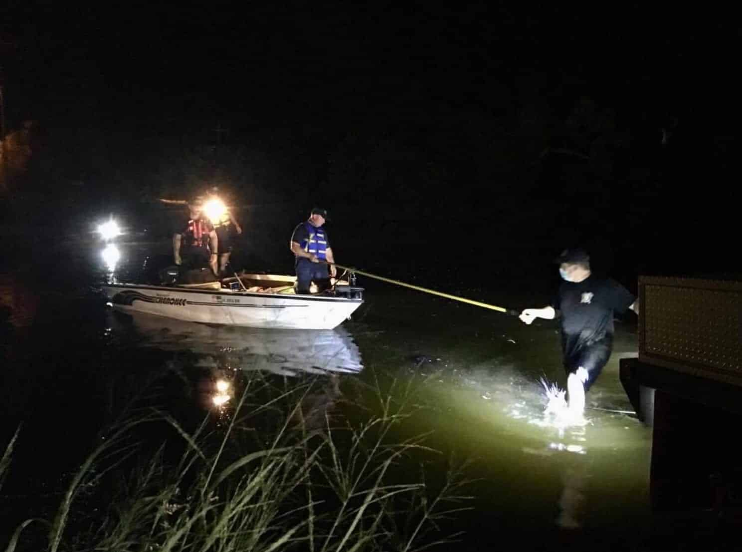 Drone with thermal camera used in search for missing kayaker
