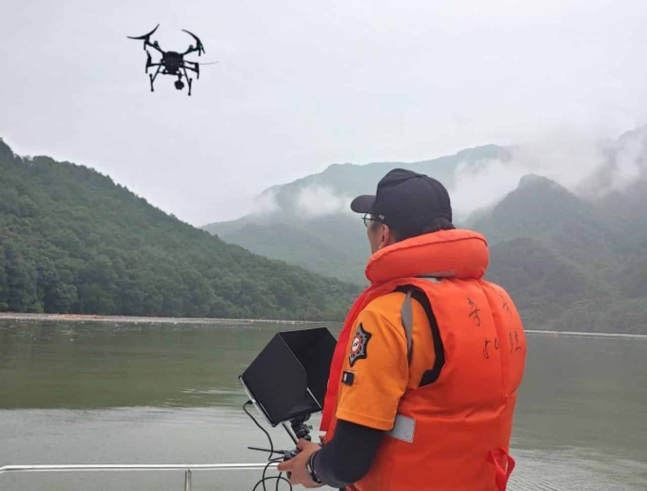 Drones prove invaluable during heavy flooding in South Korea