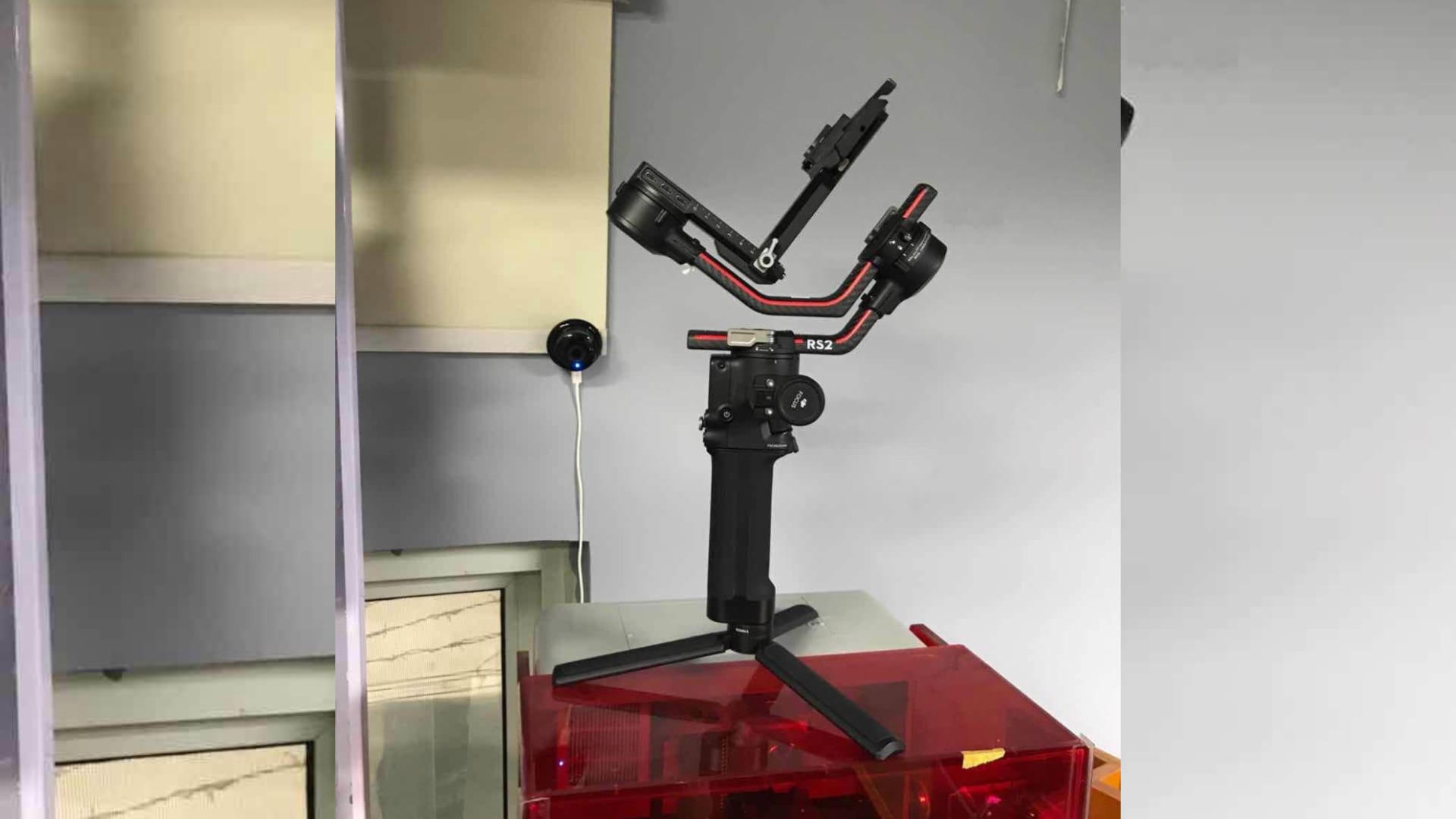Leaked photo DJI Ronin RS2 Gimbal shows on Twitter