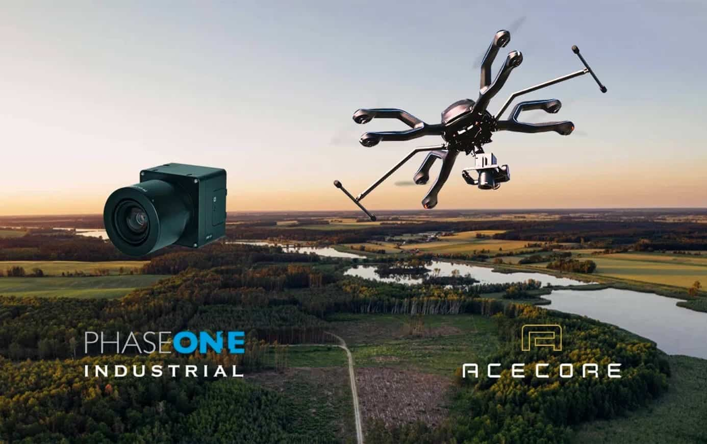 Phase One Industrial and Acecore integrate camera and drone technologies