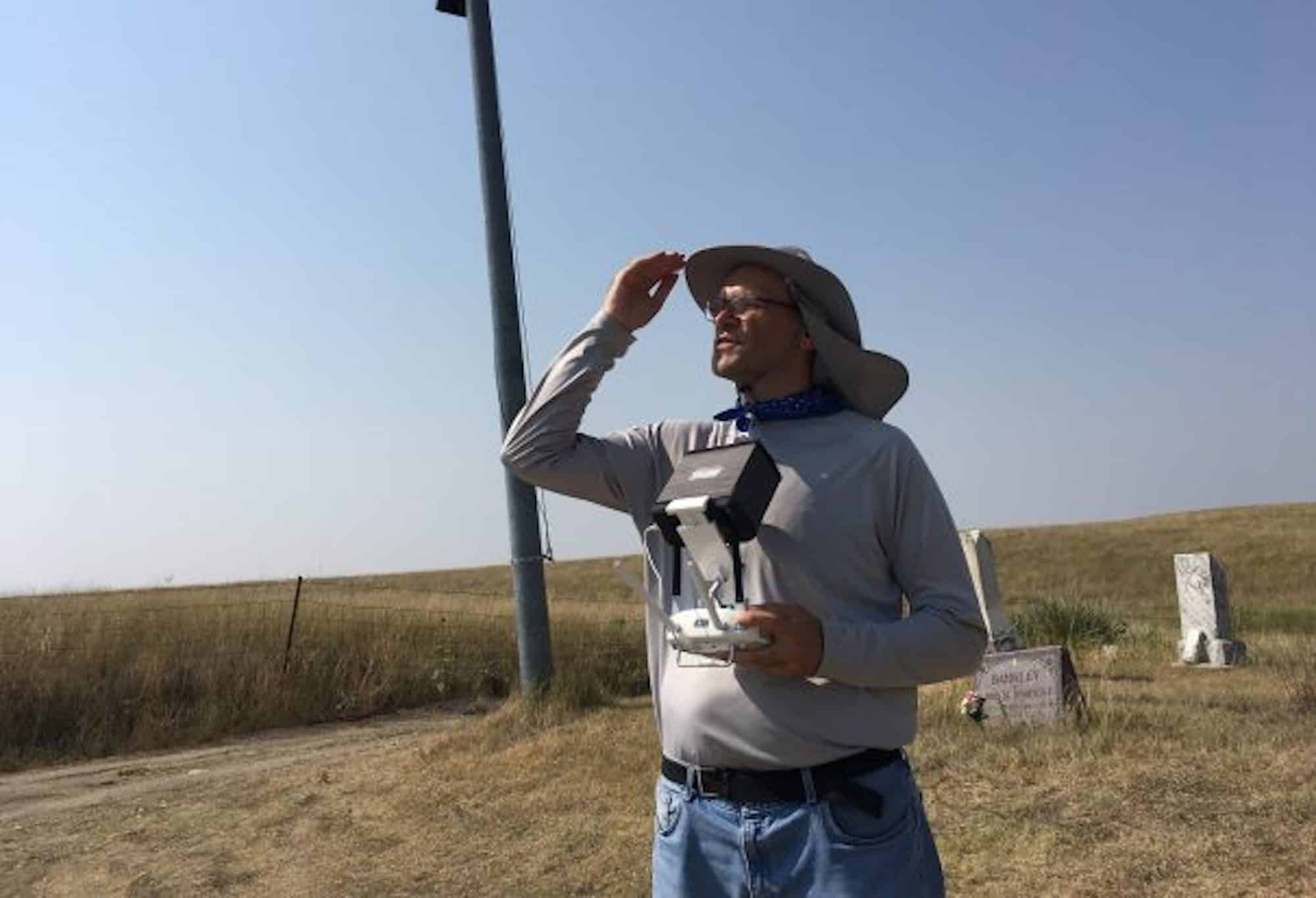 Wyoming drone pilot helps to find unmarked graves