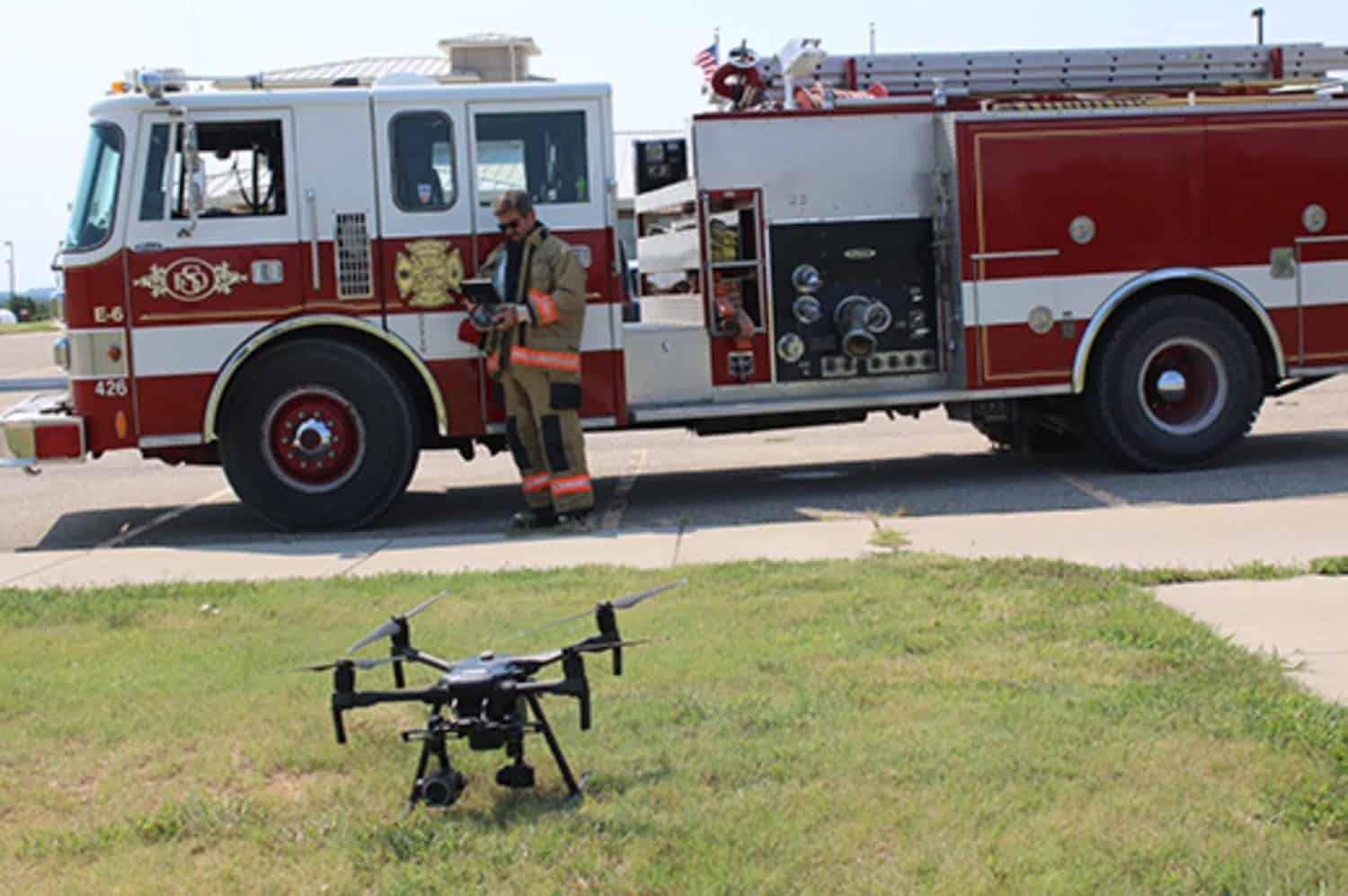 ASSURE partner K-State Polytechnic launches UAS Fire response training
