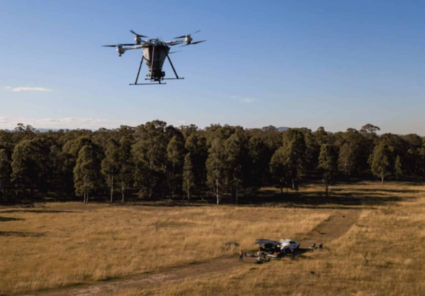 Dendra secures $10M to use drones to restore biodiversity