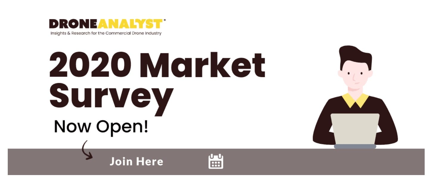 DroneAnalyst 2020 Annual Market Sector Survey launches today