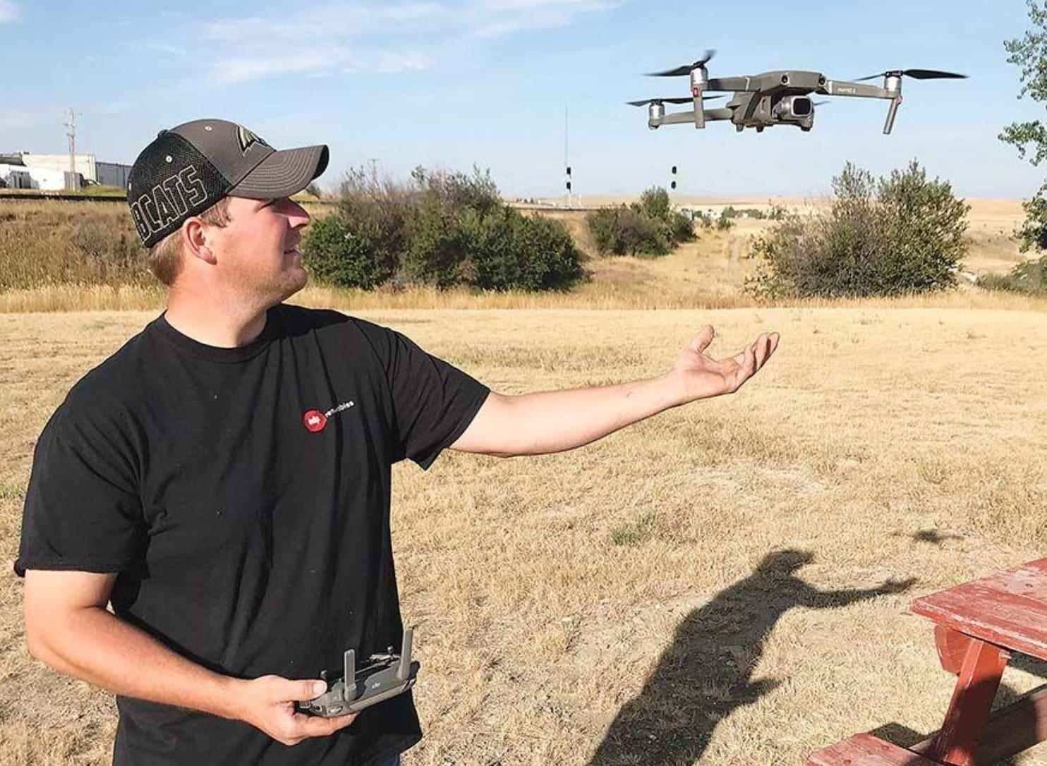 Farmers use drones to remotely identify livestock