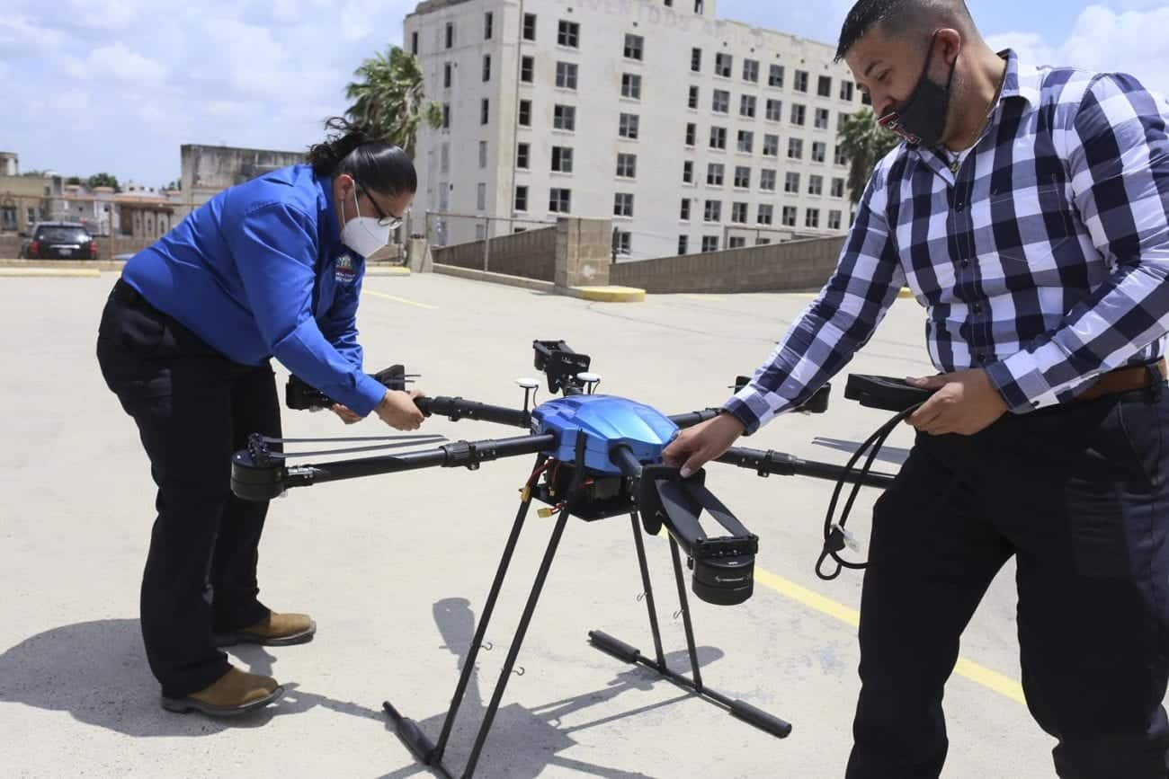 'Mosquito drone' acquired by the City of Brownsville, TX