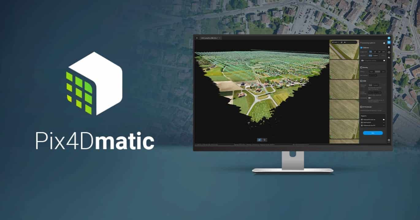 Pix4Dmatic: accurate, faster photogrammetry on a larger scale