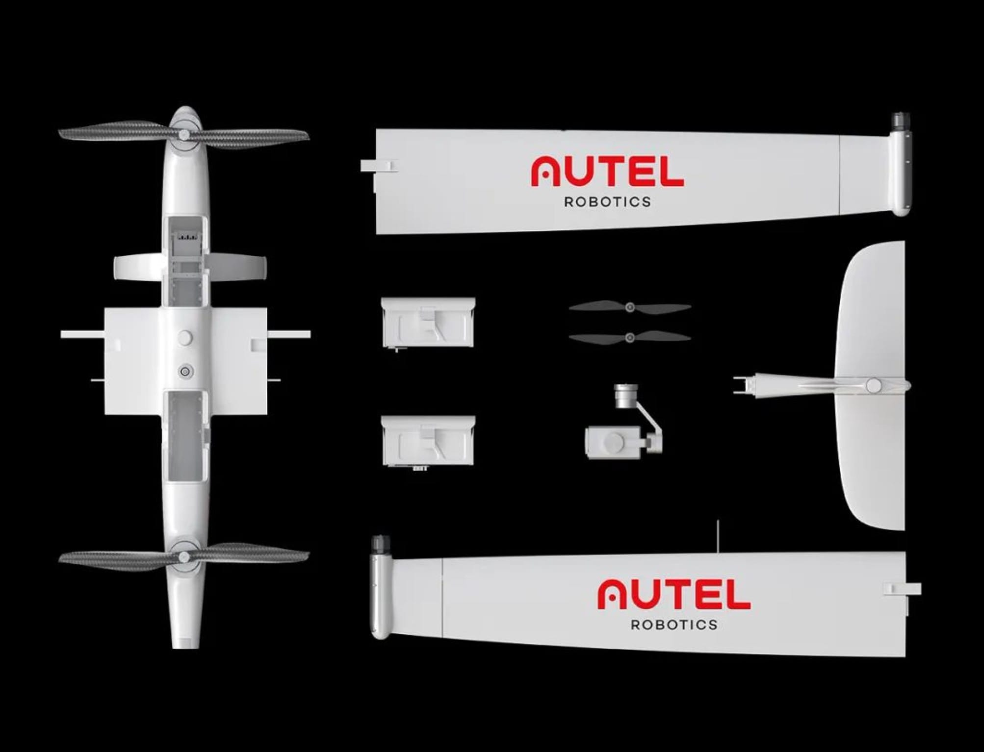 Autel Robotics launches Autel Dragonfish VTOL fixed-wing drone in China