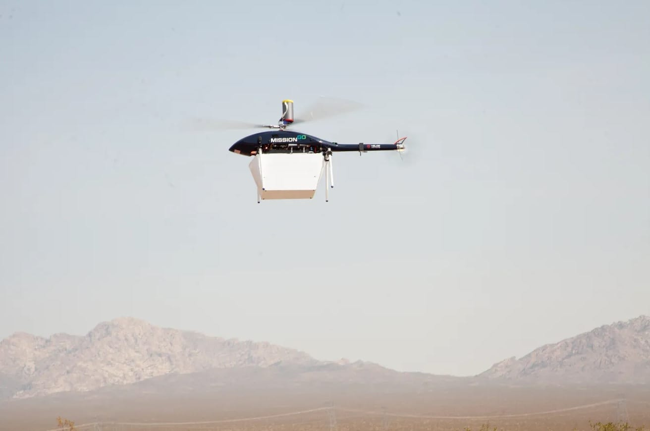 Human kidney successfully transported by drone over Las Vegas desert