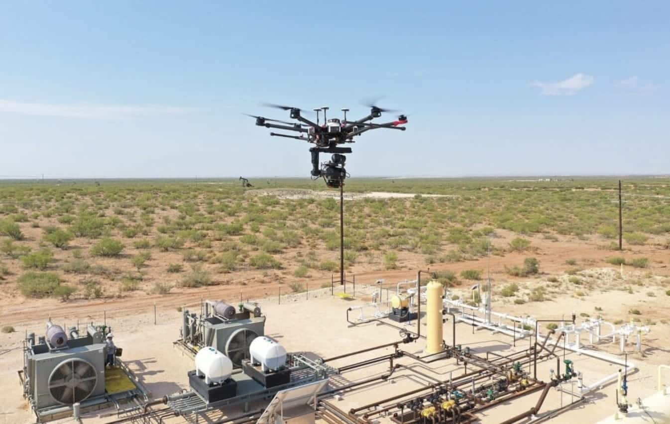 Shell and Baker Hughes Venture going big on methane-hunting drones