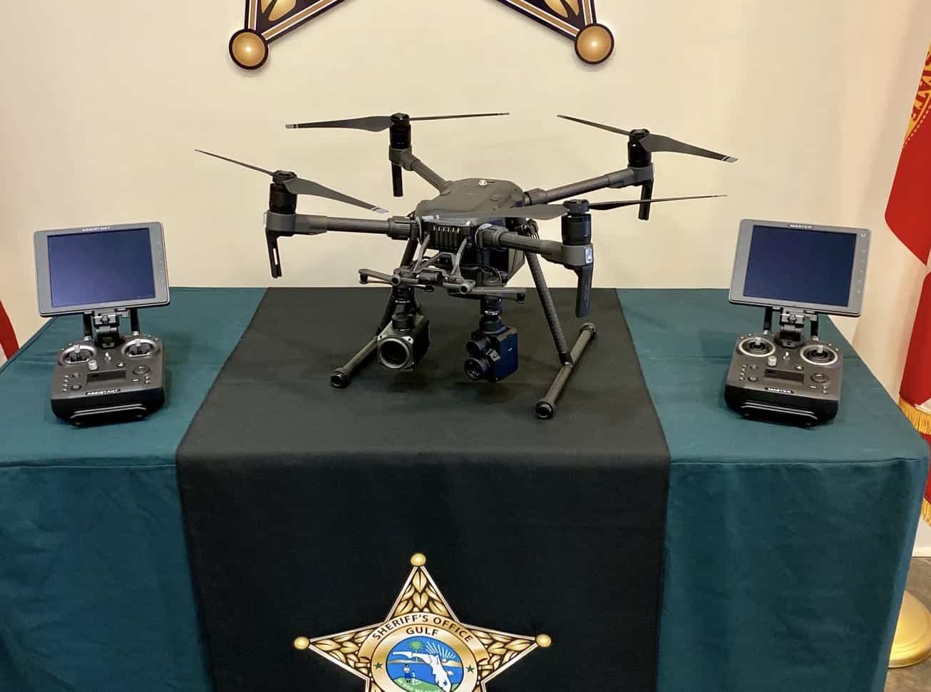 Sheriff's Office unveils latest drone technology