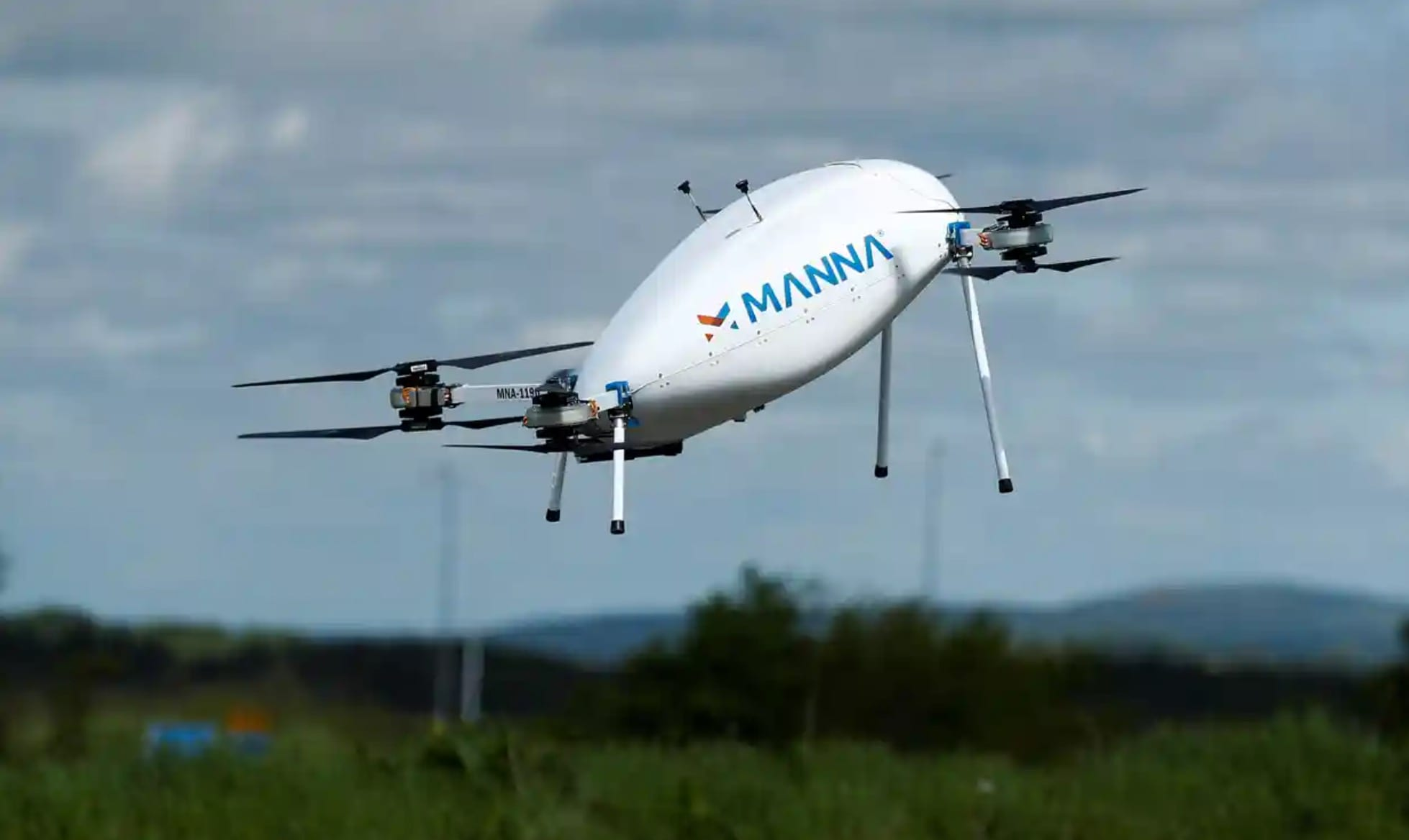 Tesco starts testing home drone delivery service in Ireland