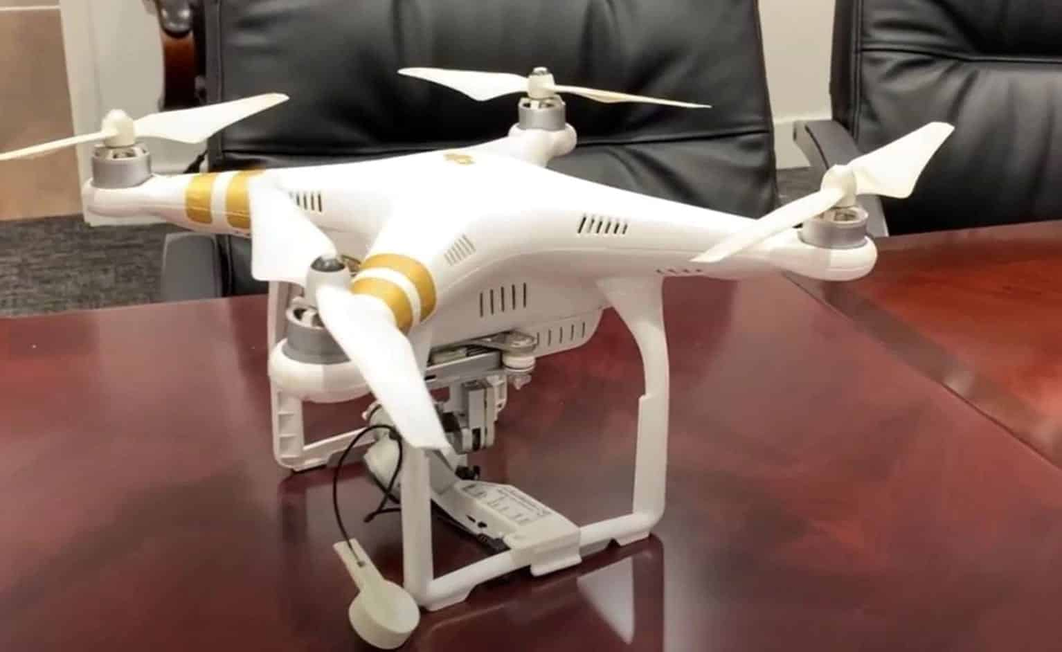 Drones used to drop contraband and surveil federal prisons - Two men arrested after trying to fly drugs into prison with DJI Phantom 3 drone