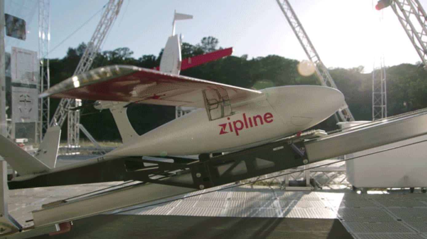 Walmart partners with Zipline for drone delivery in the United States