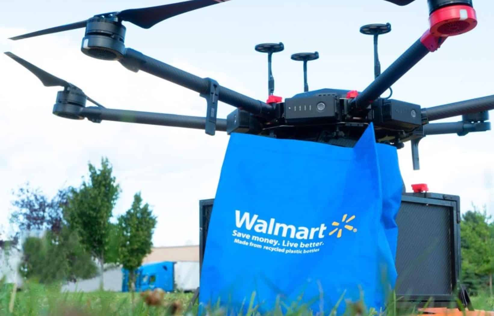 Walmart tests delivery drones in effort to keep up with Amazon