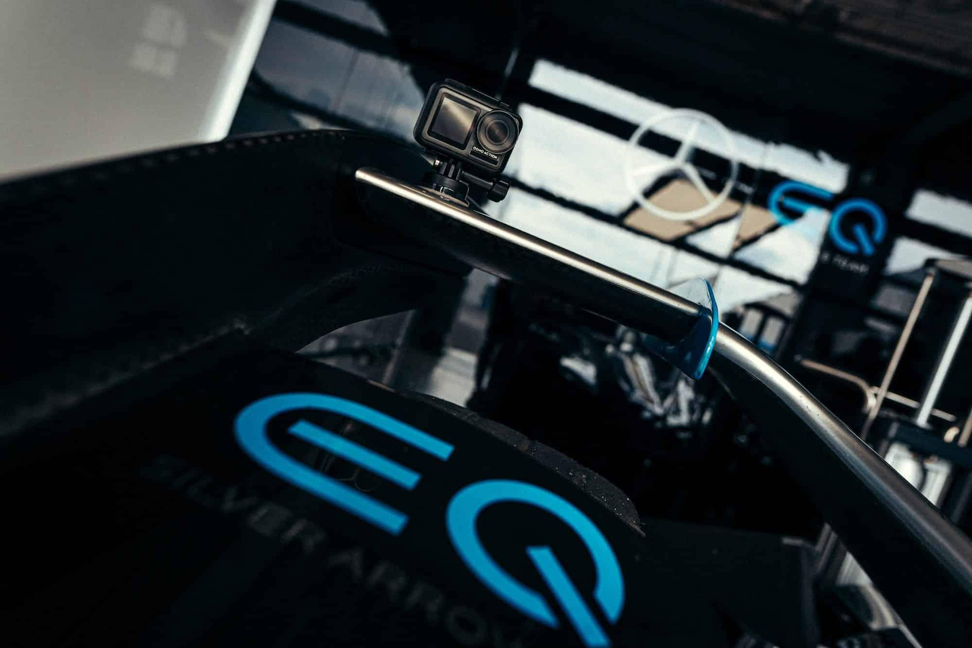 DJI and Mercedes-Benz EQ Formula E Team have lift-off