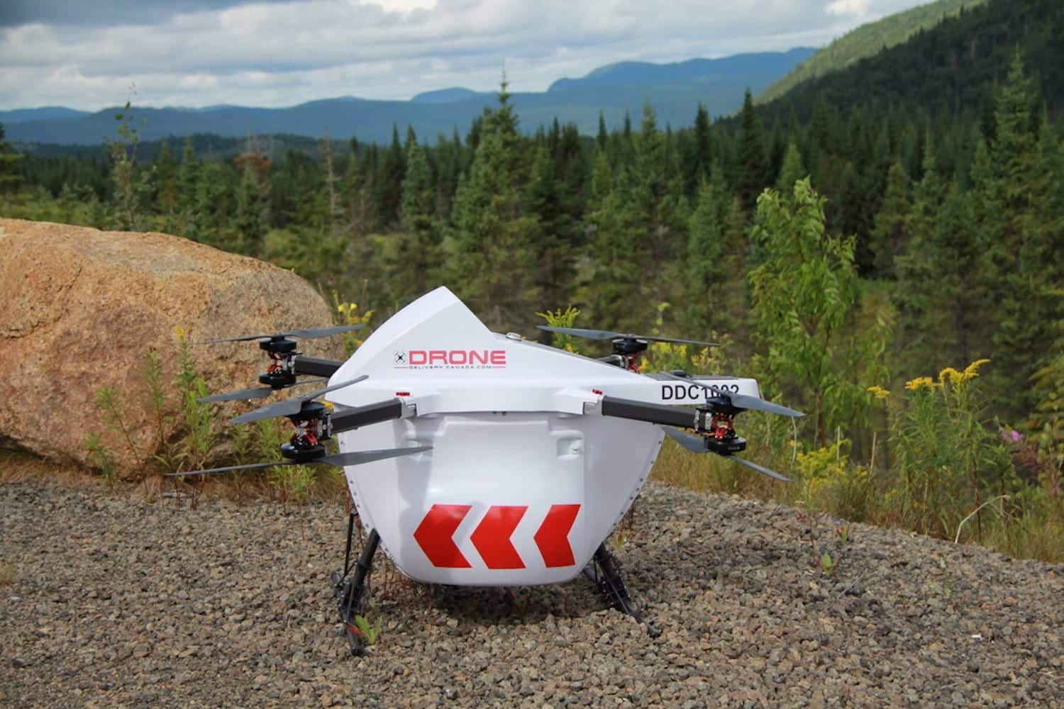 Drone Delivery Canada approved for BVLOS drone delivery operations