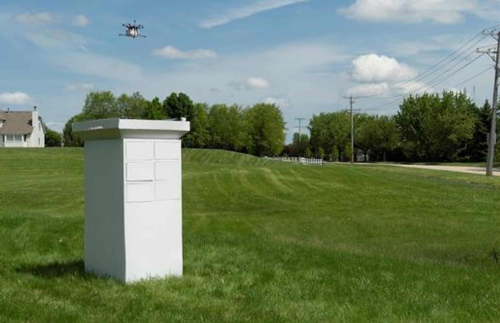 Drone delivery mailbox maker Valqari get 500K in funding
