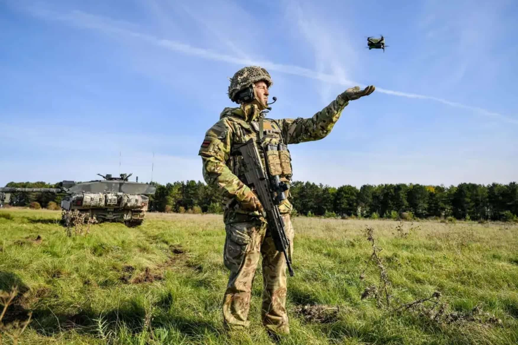 Drone swarms would overwhelm the British Army experts warn