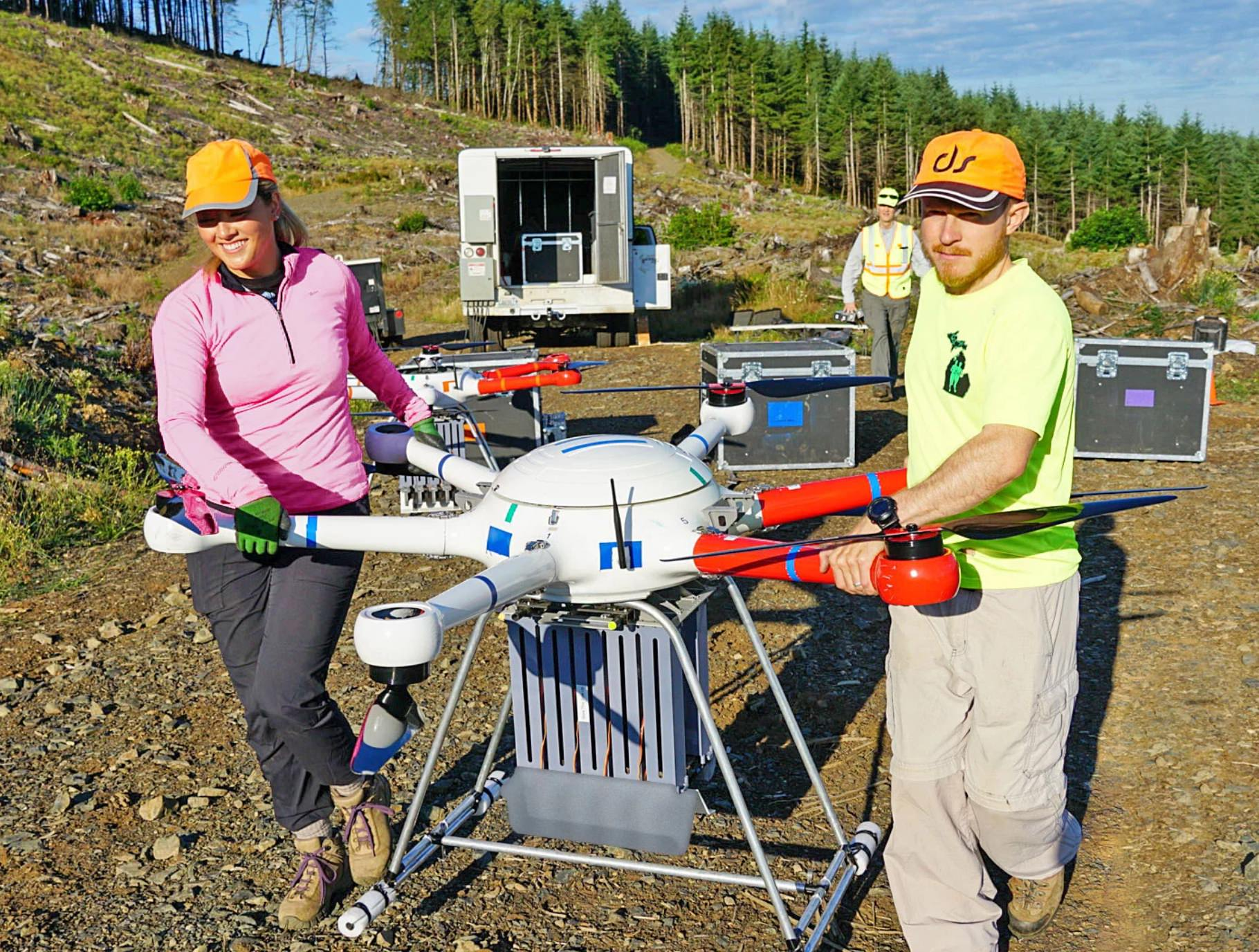 DroneSeed first in U.S to get FAA approval for post-wildfire reforestation