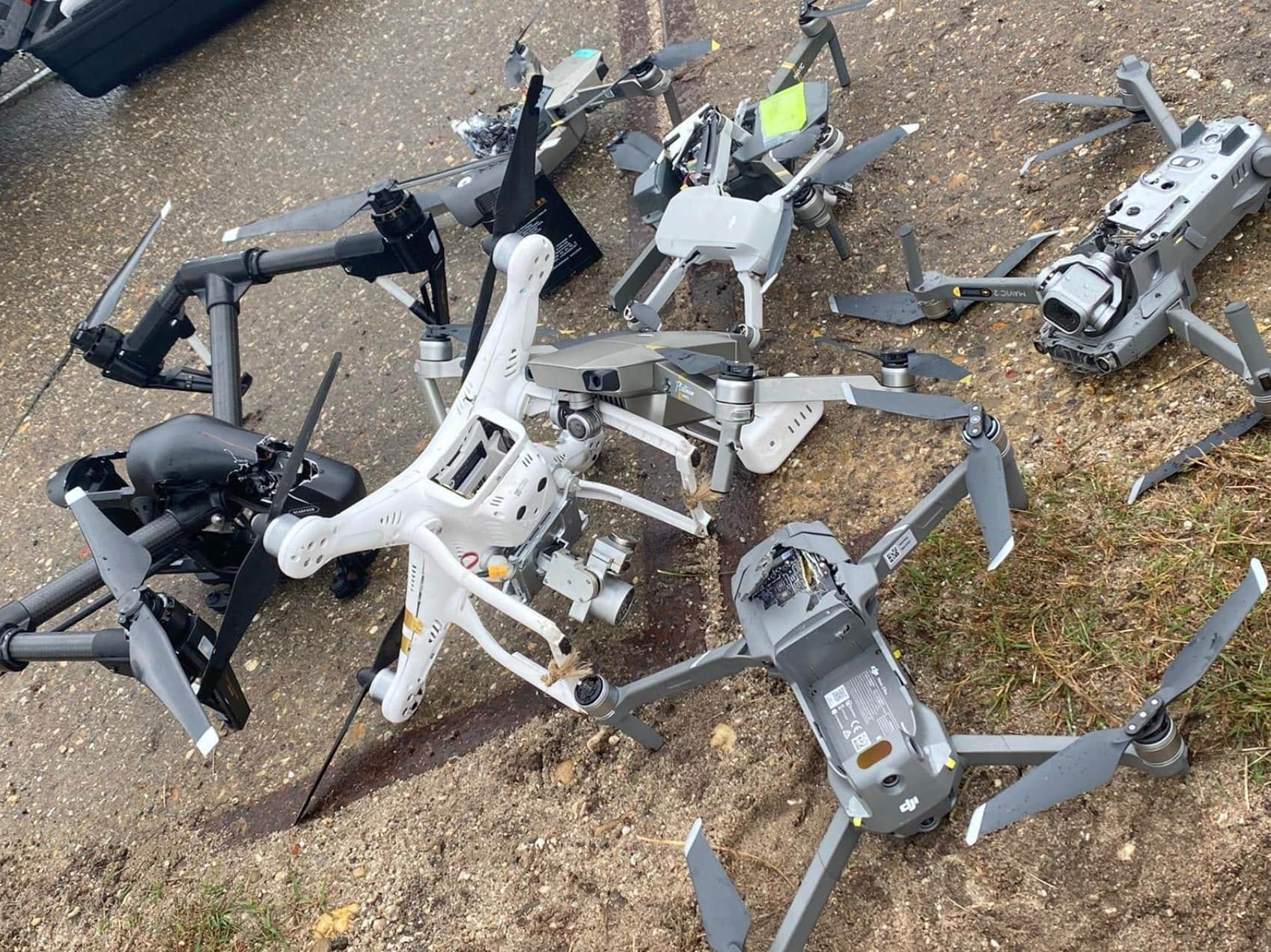 Dutch army shoots DJI drones from the skies