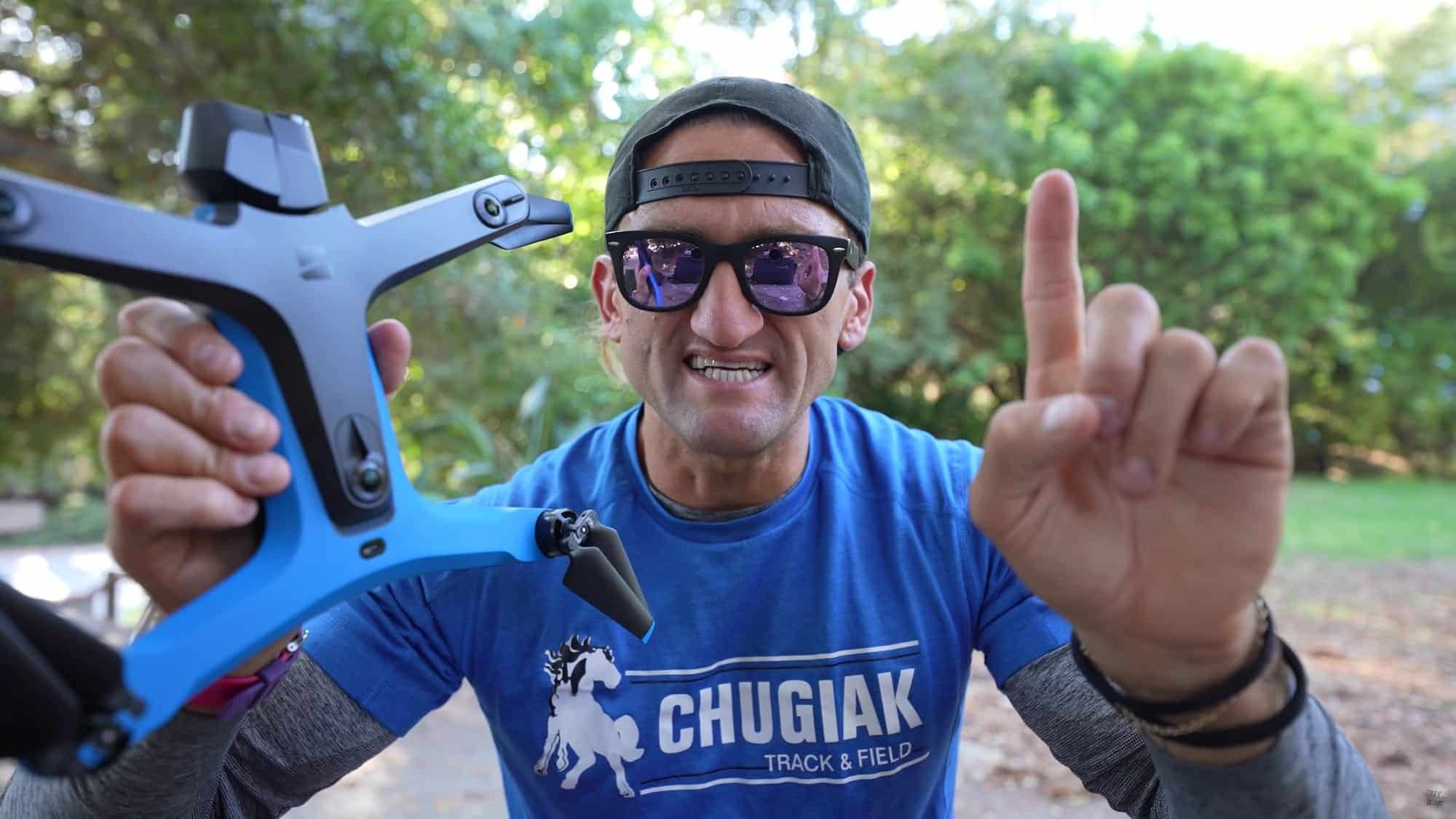 Even Casey Neistat had to wait one year before testing the Skydio 2