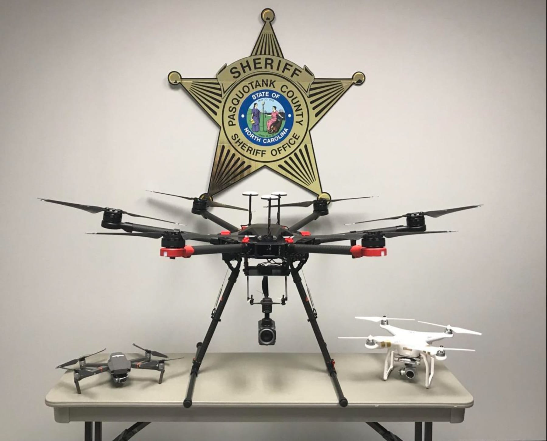 NC Sheriff's Department uses federal grant to buy two DJI drones