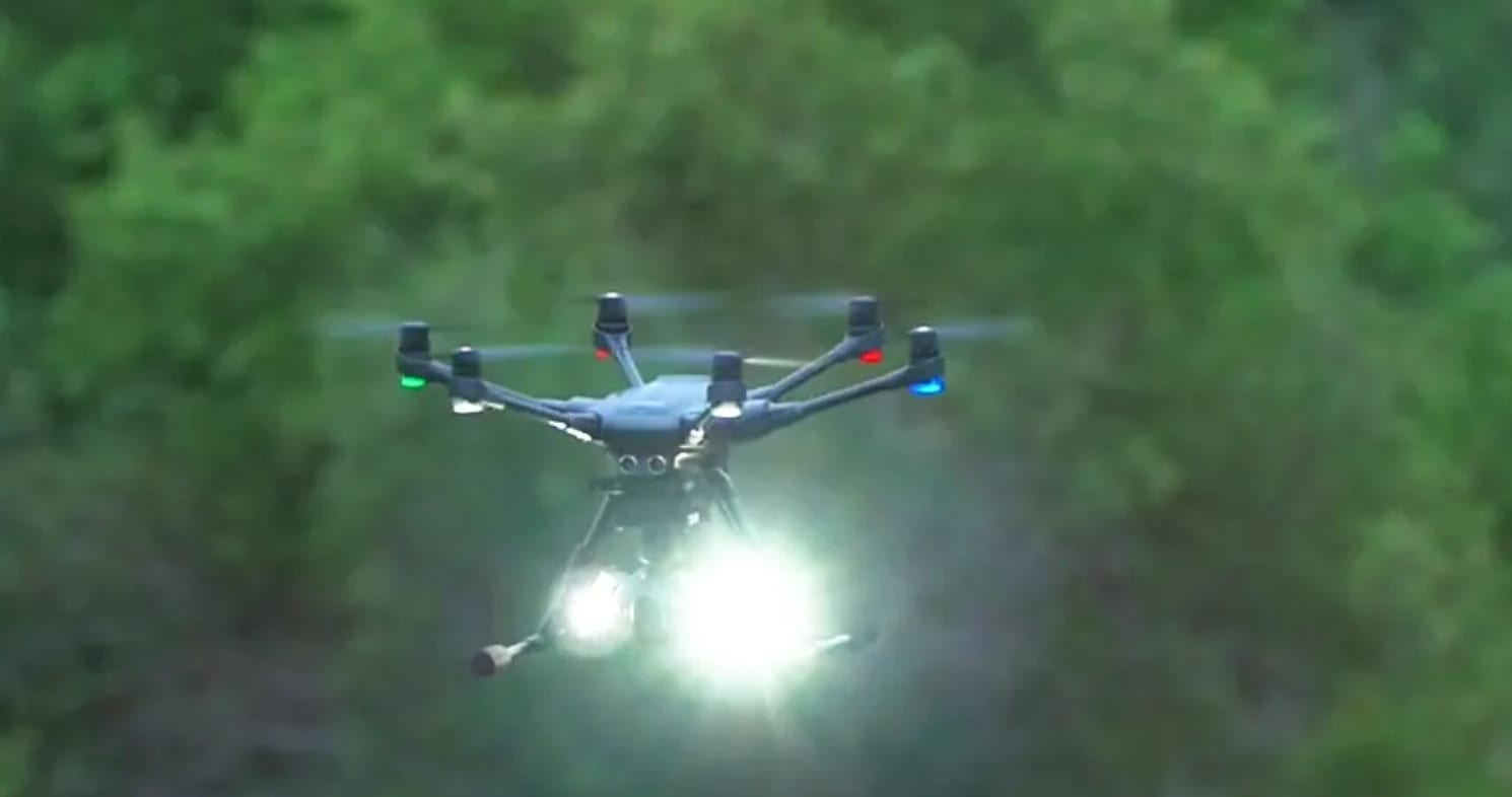 New Foxfury Rugo lighting systems for DJI M210 and 300 drones