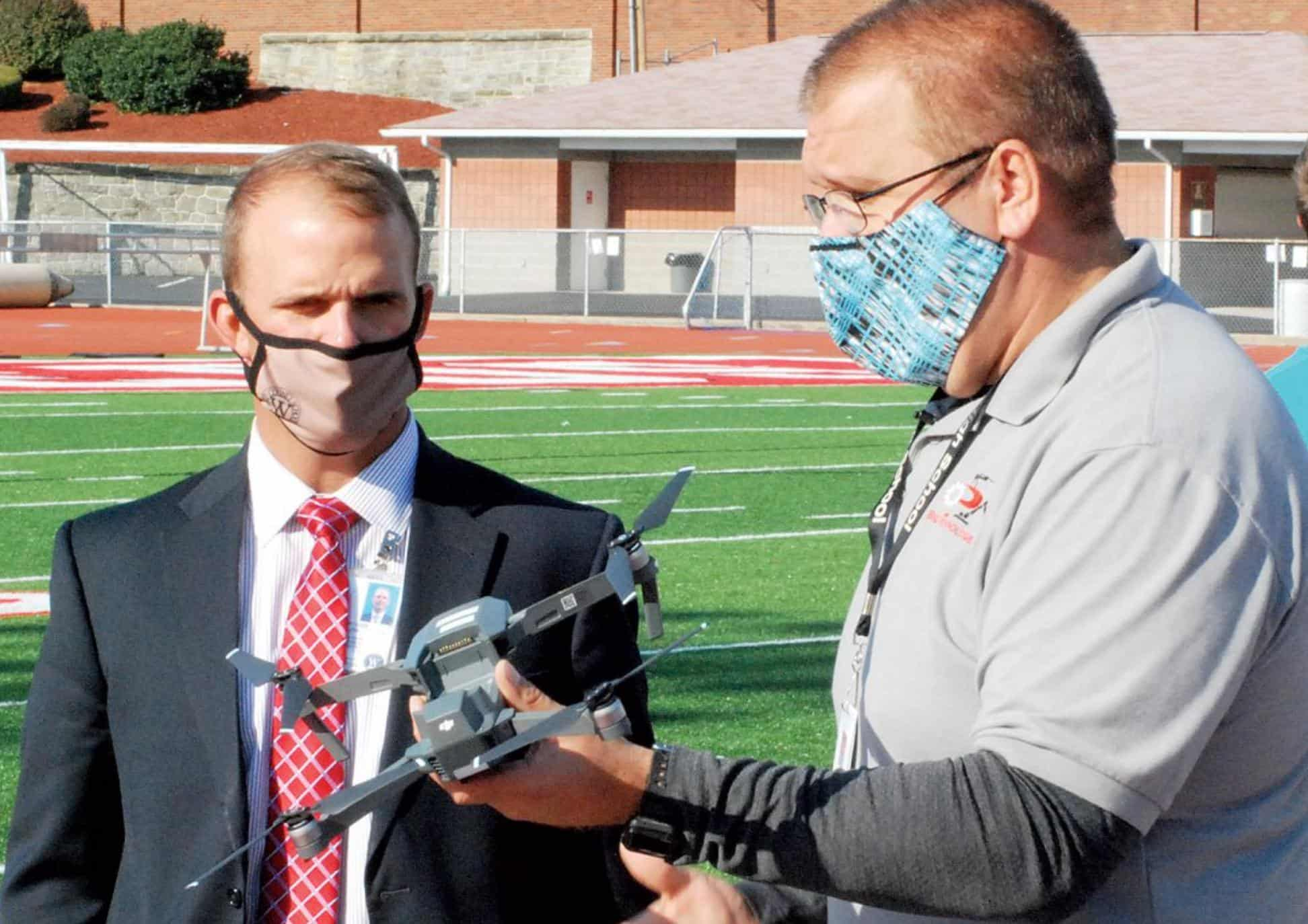 Students excited to fly drones in West Virginia High School Program