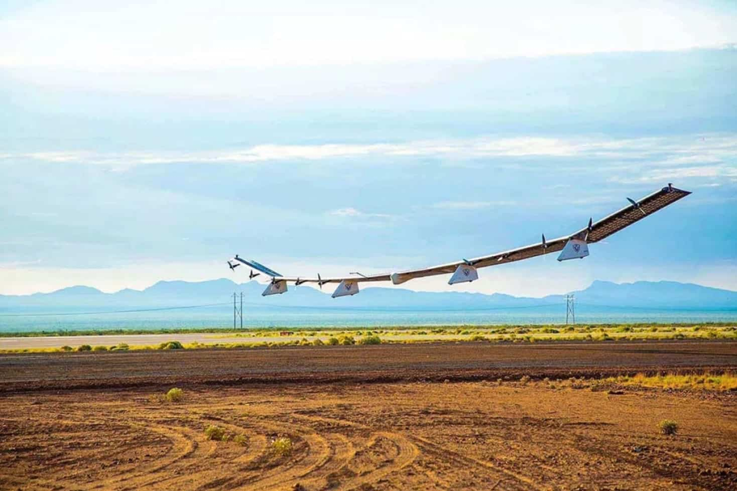 Solar-powered drone provides first LTE connection from stratosphere