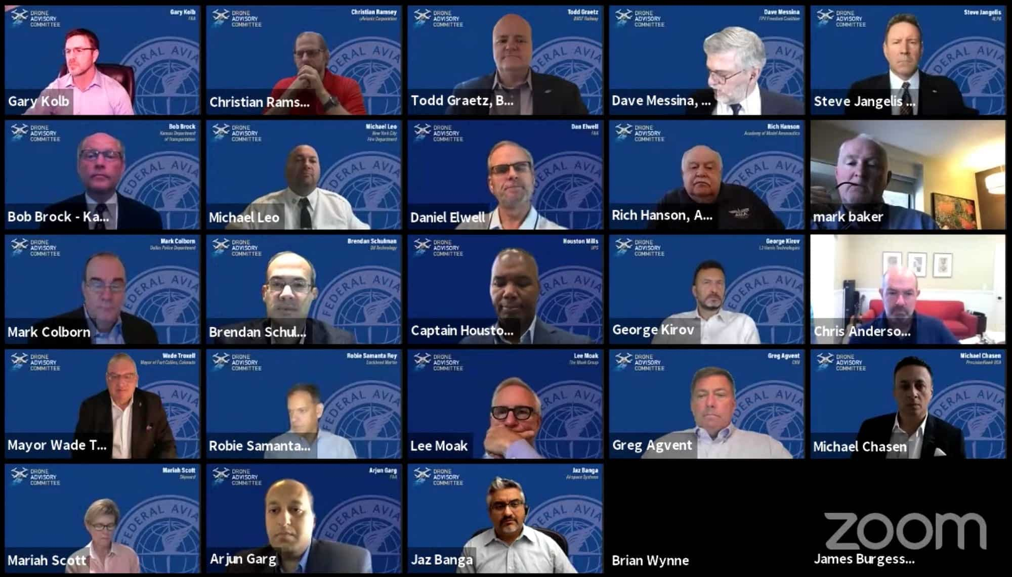 Highlights of the FAA's Drone Advisory Committee meeting