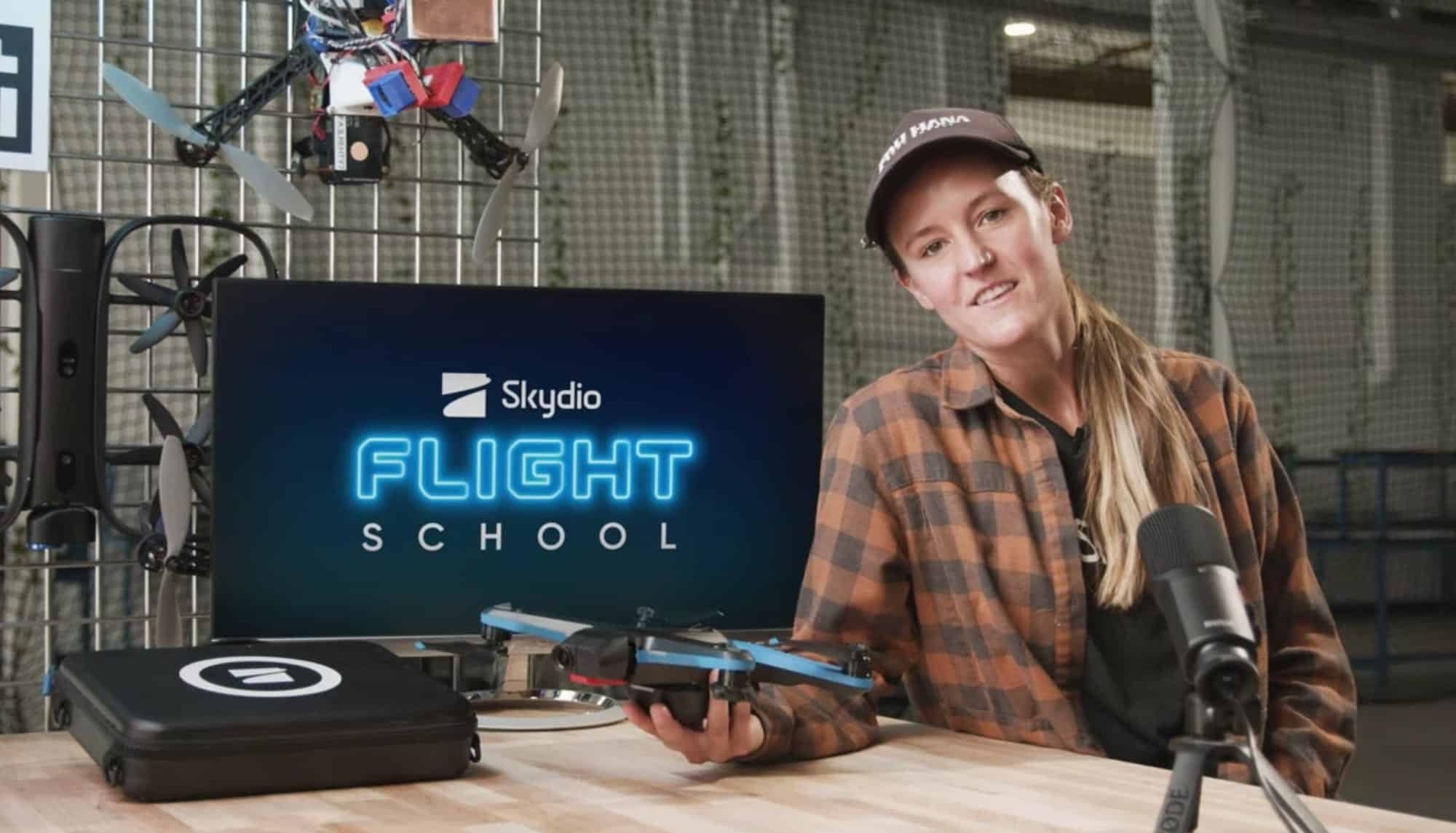 Skydio introduces the Skydio Flight School