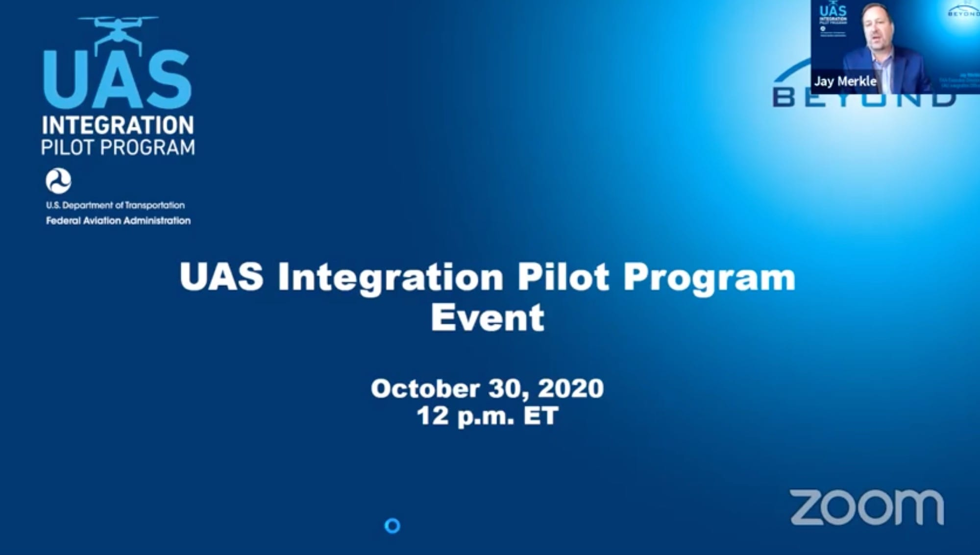 Beyond the FAA UAS Integration Pilot Program