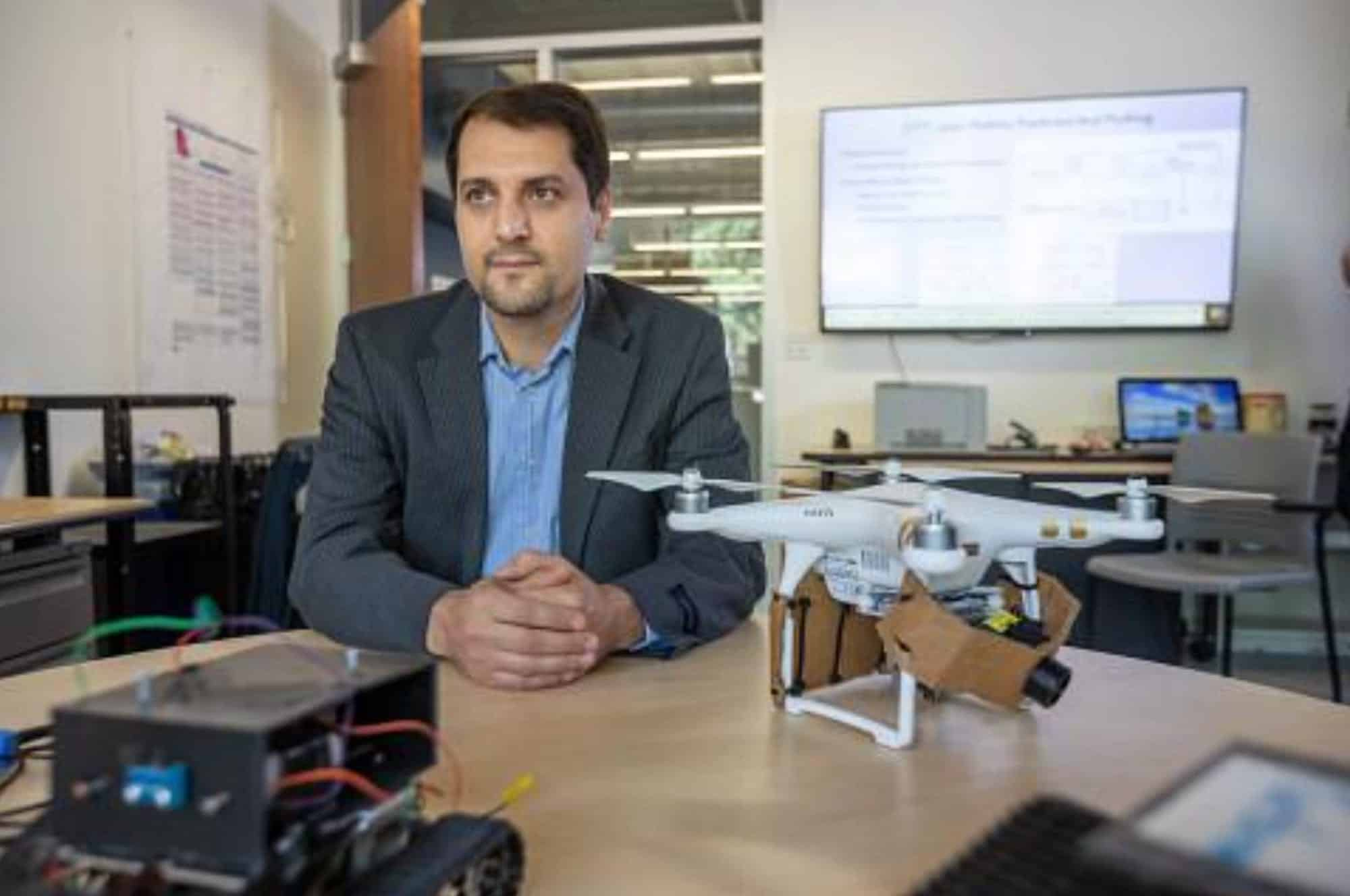 Researcher makes drones smarter, team-oriented, and situationally aware