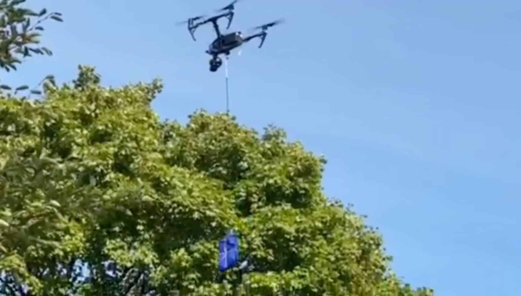 Walmart delivers first COVID-19 test kit by drone in New York