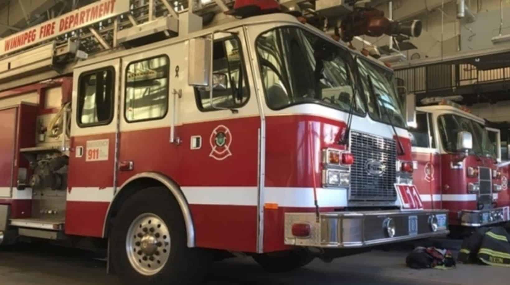 Winnipeg Fire and Paramedic Service uses drone to rescue lost person