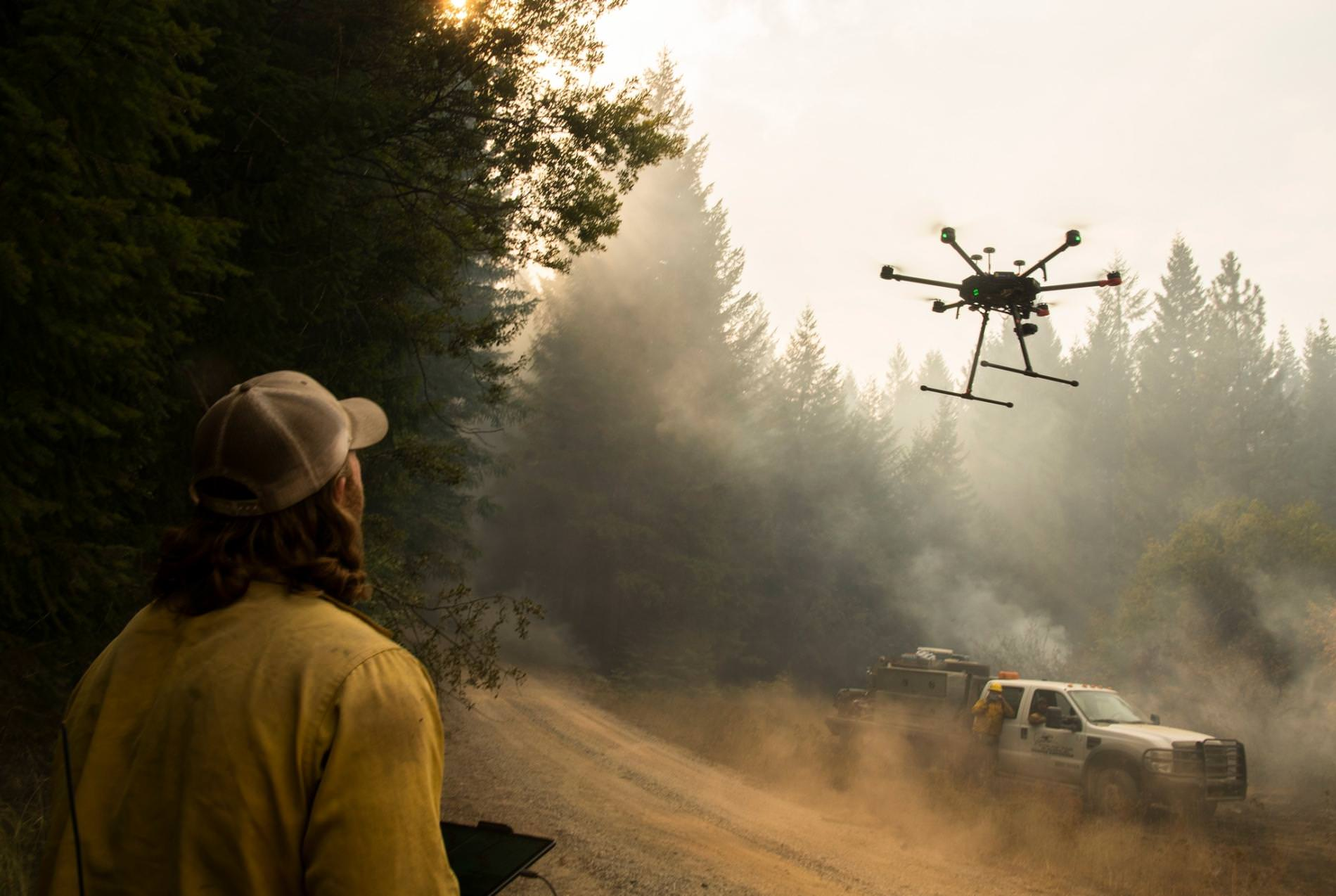 Fireball-dropping drones are the greatest innovation in fire fighting this year