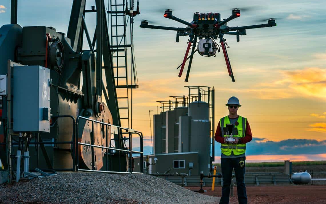 The Bakken is a natural test ground for drones in North Dakota