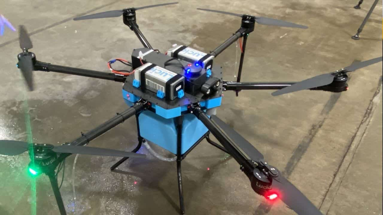 Lucid Drone Technologies uses UAS to fight coronavirus in N.C.