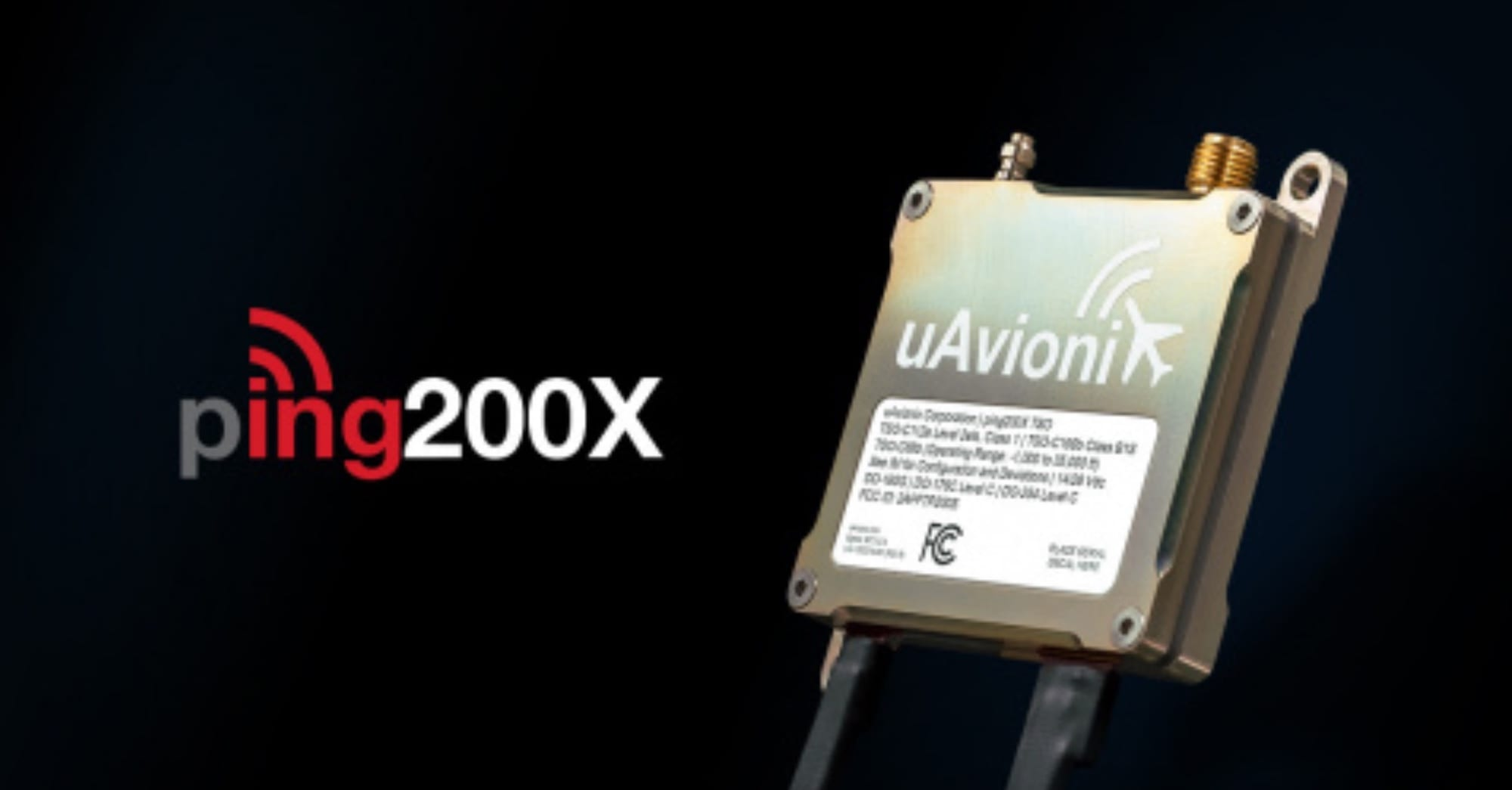uAvionix files FAA TSO application for ADS-B Out drone transponder