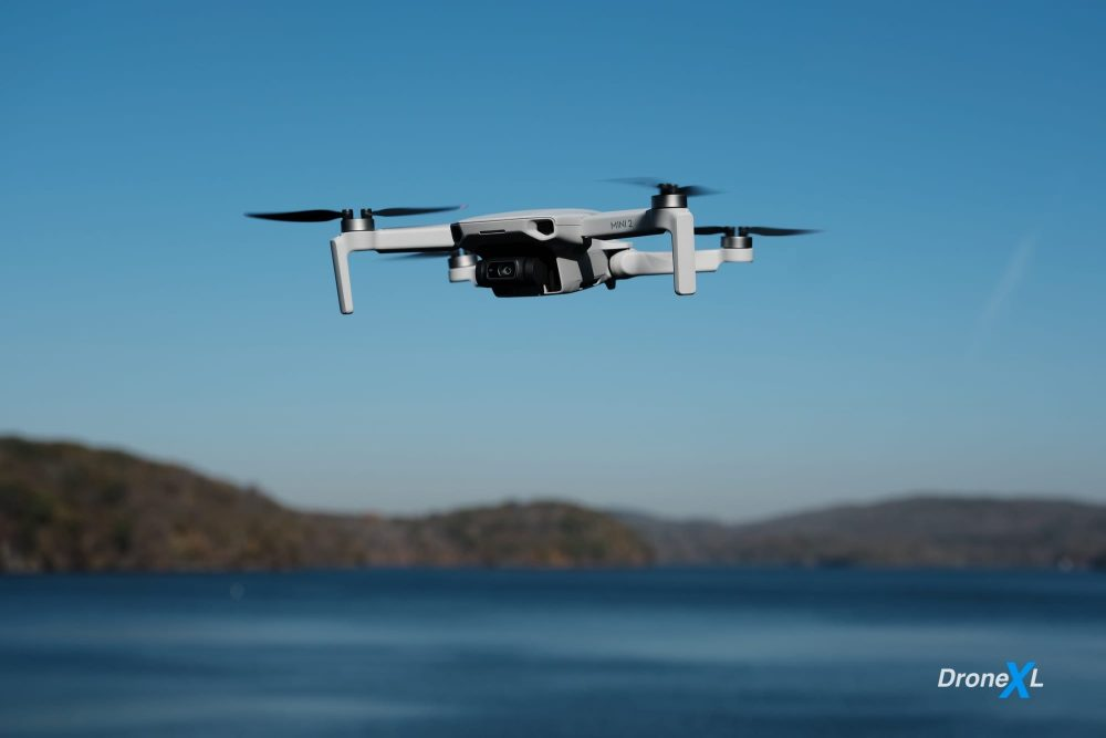 The DJI Mini 2 from DJI weighs less than 250 grams and may be used above buildings.
