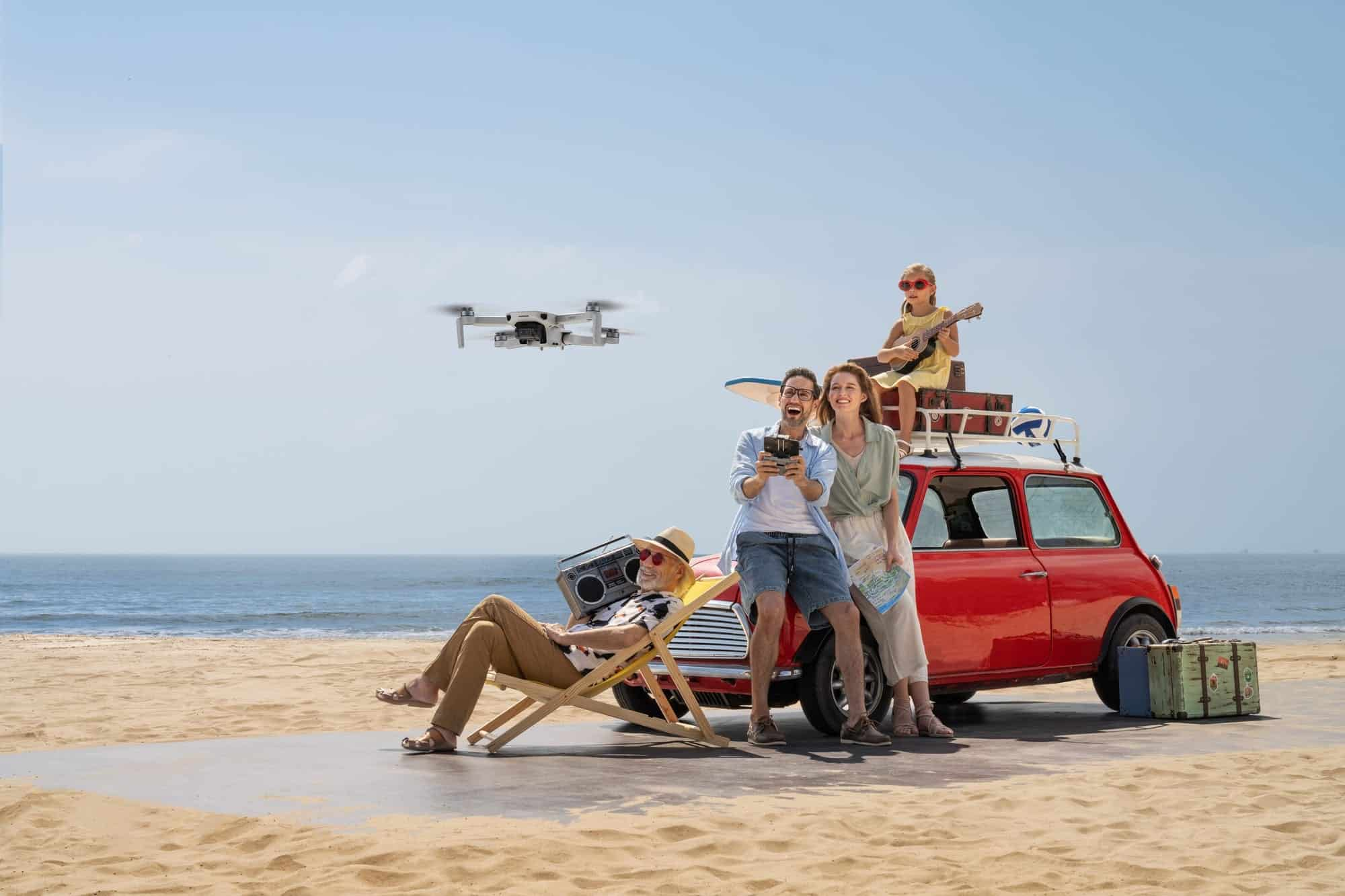 DJI Mini 2 officially released by world's largest drone maker