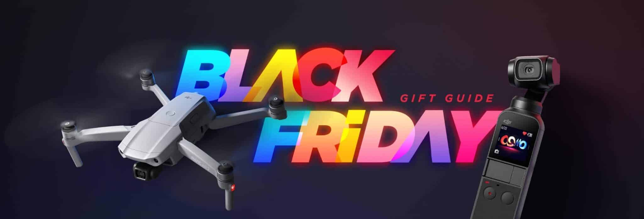 DJI launches special Black Friday and Holiday Gift Guide minisite