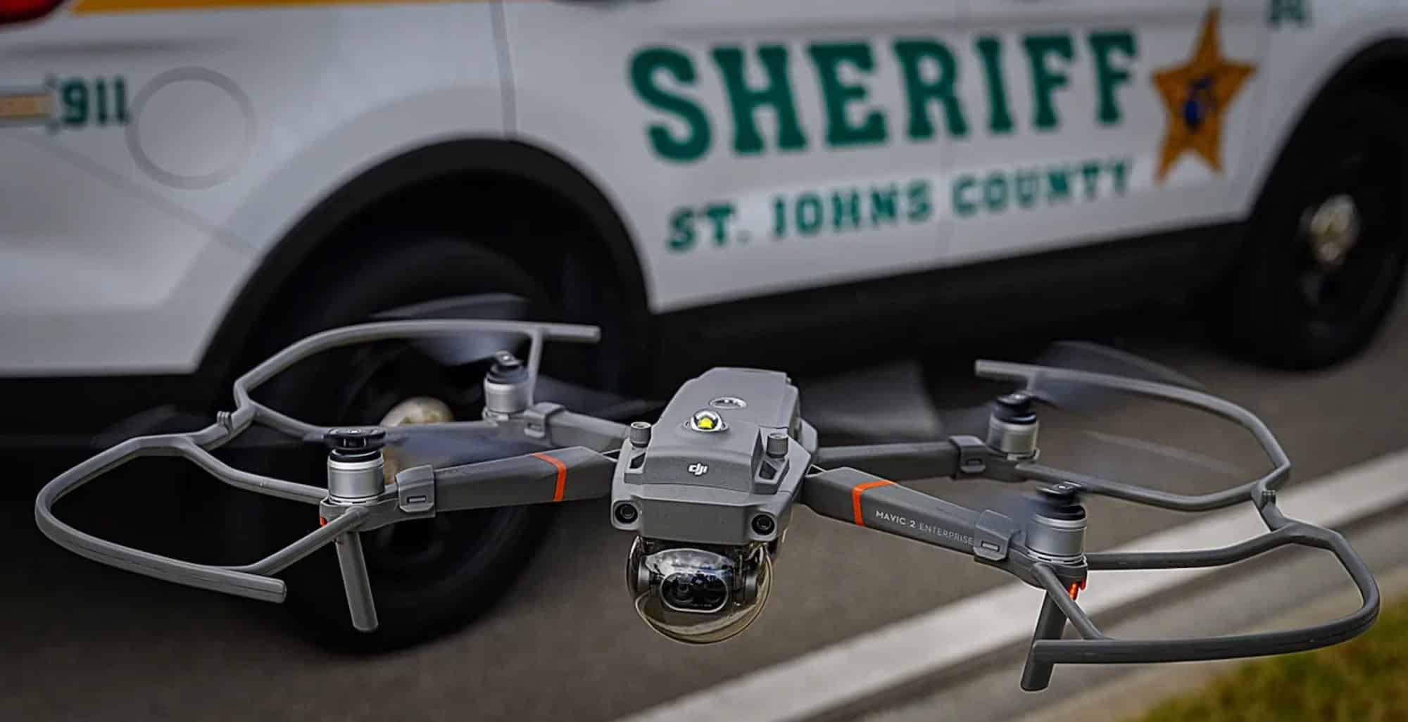 Drones start to play key role at Sheriff's Office